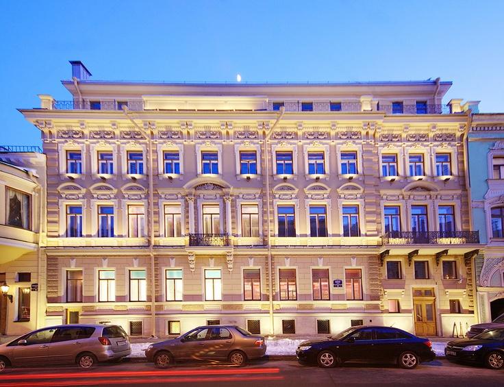 Domna Prestige Hotel St. Petersburg, Russia #stpetersburg #russia #travel #city #evening #hotel #dominaprestigehotel