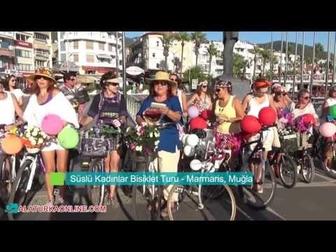 Süslü Kadınlar Bisiklet Turu - Marmaris, Muğla