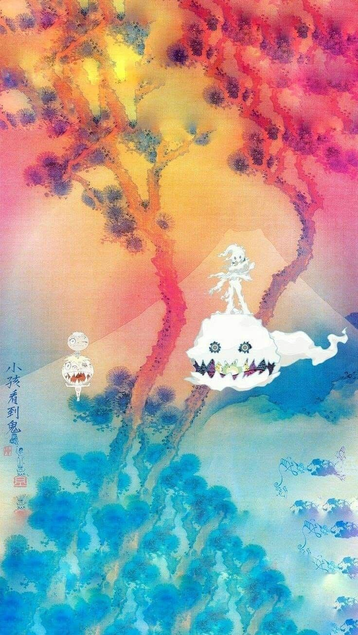 Kids See Ghosts With Images Kid Cudi Wallpaper Hypebeast