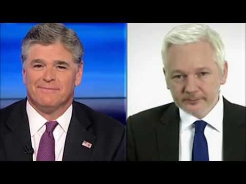 Julian Assange on The Sean Hannity Radio Show (9/8/2016) - YouTube