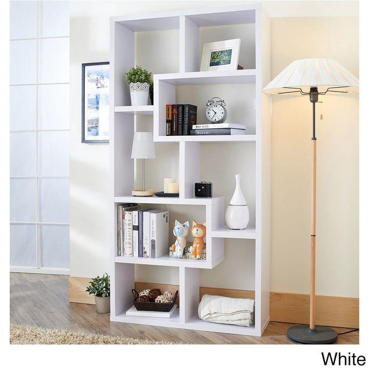Captivating Furniture Of America Verena Contoured Leveled Display Cabinet (Light Oak),  Brown