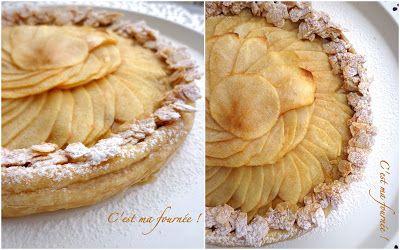 .^. C'est ma fournée !: La féérique tarte aux pommes d'Olivier Bajard...(dire que je çroyais avoir déjà tout vu de çe blog.......sans avoir vu cette sublime tarte aux pink lady, mes pommes, ma drogue)