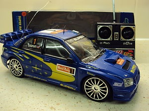 SUBARU IMPREZA WRC REMOTE CONTROL CAR LED LIGHTS 1/18 | eBay. If I can't have the real thing I guess I will have to settle