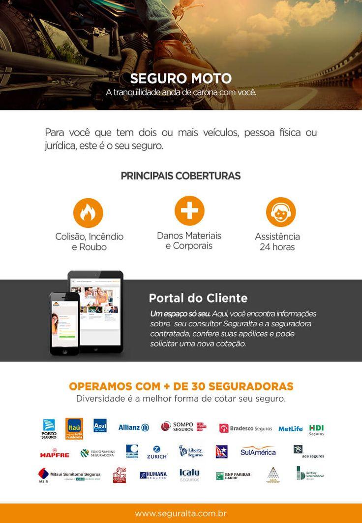 #seguromoto Seguro moto é na Seguralta. Solicite seu orçamento.  Contato:  Willians M. Granado Silva  Cel.: (16) 99765-7334 (WhatsApp) E-mail: willians.araraquara@seguralta.com.br