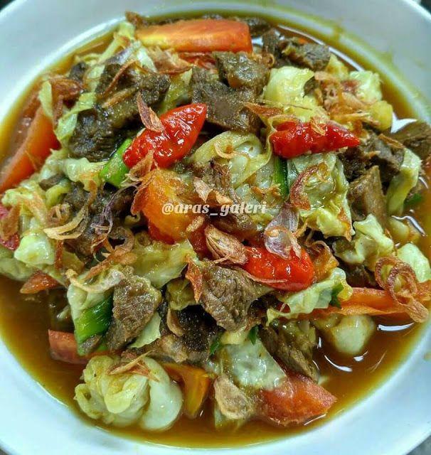 Resep Tongseng Sapi Tanpa Santan Resep Ala Netizen Resep Masakan Asia Resep Masakan Resep Daging
