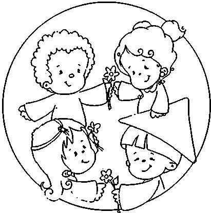 Menta m s chocolate recursos para educaci n infantil - Ninos en clase dibujo ...