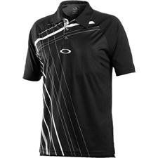Oakley Men's Don't Agitate Polo, Jet Black, Medium by Oakley. $65.00. Screenprint graphic plow with self collar Oakley Golf Apparel is offered as form and function. Oakley continues to offer the latest in technology and bridges the gap between style and Performance.
