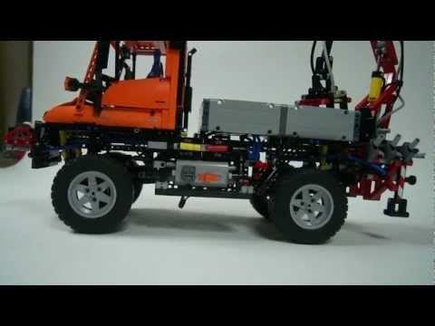Lego 8110 Unimog U400 set - YouTube