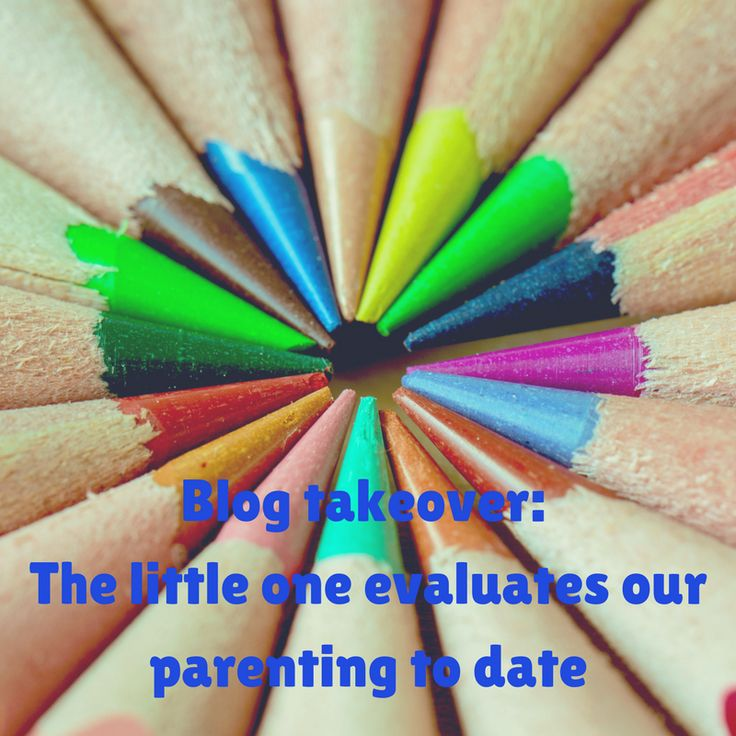 Blog takeover: the little one talks parenting… – Mum Versus boys