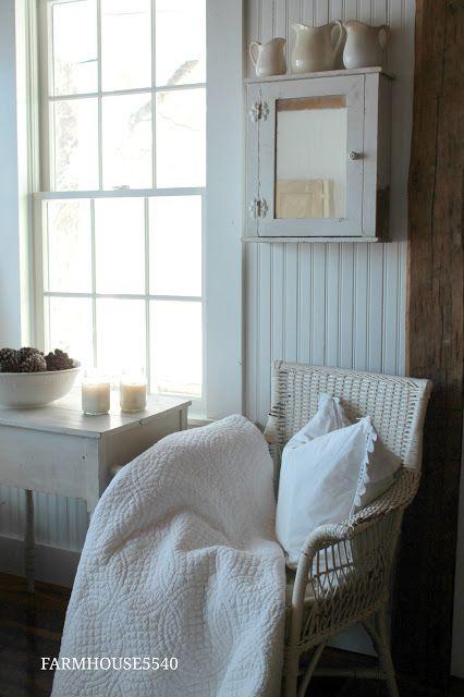 FARMHOUSE 5540: Farmhouse Inspiration ~ Staying Warm and Cozy
