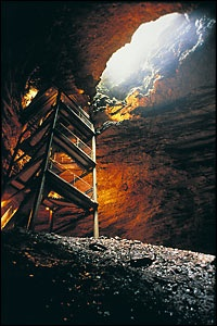 Marvel Cave at Silver City Branson Missouri
