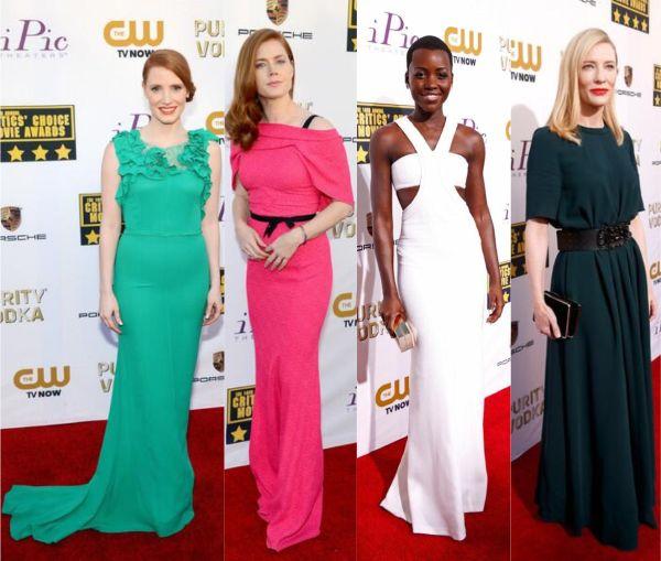 FASHION BEAUTY NEWS CULTURE THE SCENE FASHION WEEK CHARITY PRESS 2014 Critics' Choice Awards Red Carpet Round-Up