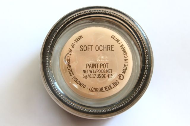 MAC Soft Ochre Paint Pot - Apparently the best primer color there is MAC 24$