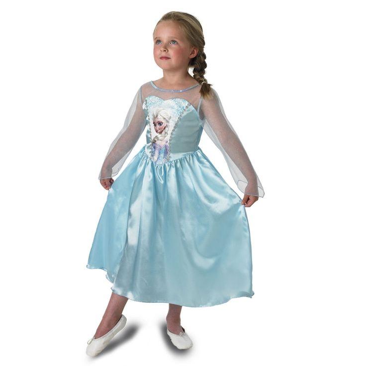 Wat een sprookjesachtige jurk draagt Elsa, wat zal je er prachtig uitzien.