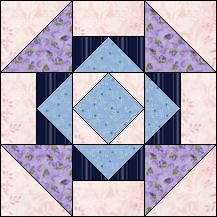 Block of Day for February 22, 2017 - Hansel and Gretel-strip piecing-The pattern may be downloaded until: Saturday, March 4, 2017.