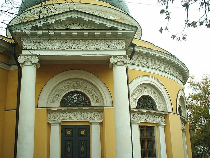 In the same neighbourhood as the Tretyakov Gallery.