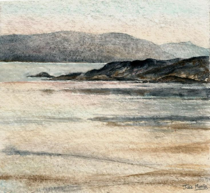 Buy Iona to Mull 1, Watercolor by JULIE MORRIS on Artfinder. Discover thousands of other original paintings, prints, sculptures and photography from independent artists.