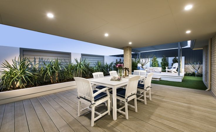 Huge undercover alfresco for entertaining guests