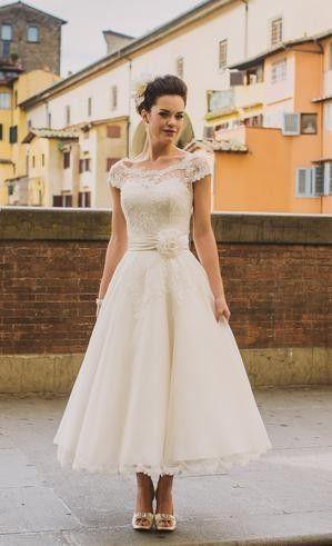 short wedding dress FRANCESCA inspiration bridal