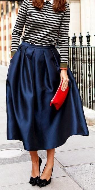 PARISIENNE STYLE.. love this look! Might try to pull it off!