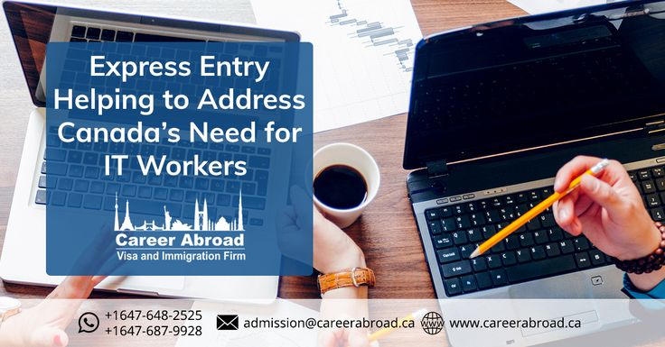 If you have an #IT background and have the required qualifications and experience you can migrate to #Canada via the #expressentry route. Get in touch for more: http://www.careerabroad.ca/apply-online/