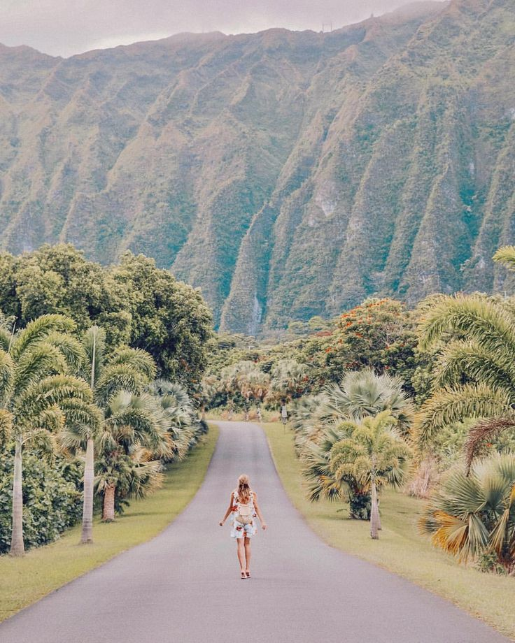 "70.4k Likes, 942 Comments - Leonie Hanne (@ohhcouture) on Instagram: ""Jurassic Park vibes in the endless greens of Oahu, captured with @huaweimobilede. My biiig Hawaii…"""