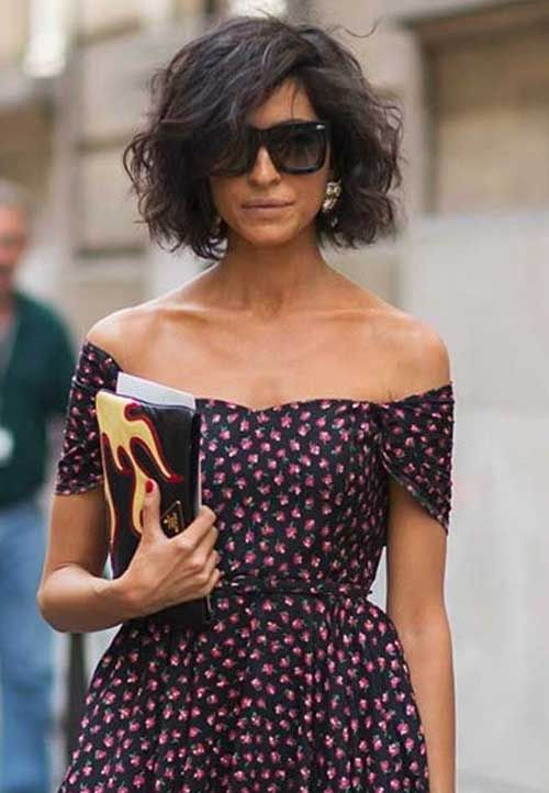 Magnificent 1000 Ideas About Short Wavy Hair On Pinterest Short Wavy Wavy Hairstyles For Women Draintrainus