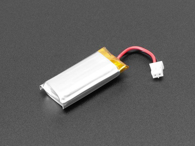 Lithium Ion Polymer Battery Ideal For Feathers - 3.7V ...