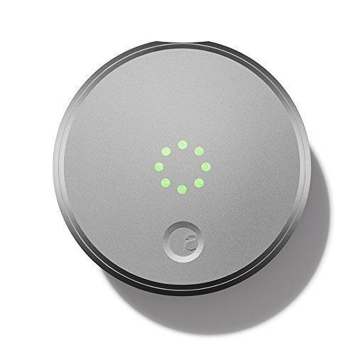 August Smart Lock Wifi Enabled Keyless Home Entry with Your Smartphone - Silver  | eBay $99.99