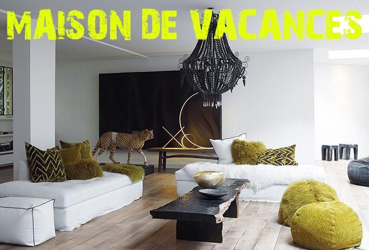 25 best ideas about coussin fourrure on pinterest oreiller de fourrure d - Maison de vacances deco ...