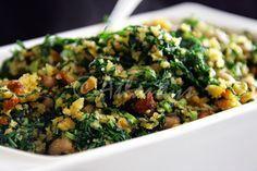Terapia do Tacho: Migas de broa com couve e feijão frade (Black eyed peas, kale and cornbread dry salad)