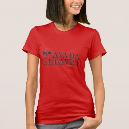 Harry Potter Spell | Avada Kedavra T-Shirt - click to get yours right now!