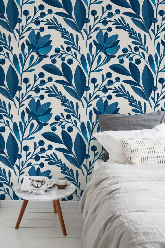 Removable Wallpaper Peel And Stick Wallpaper Wall Paper Wall Etsy Scandinavian Wallpaper Removable Wallpaper Temporary Wallpaper