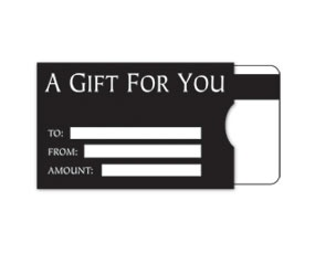 11 best gift card holders and carriers images on pinterest gift custom gift card sleeves are perfect to hold your plastic cards black version http colourmoves