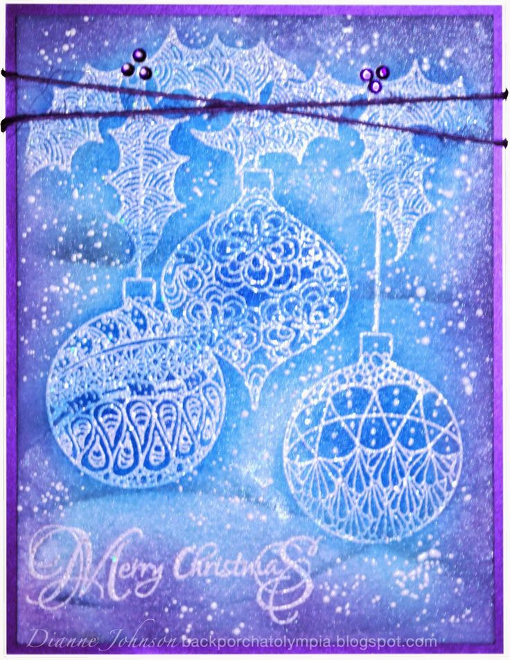 1000 Images About Magenta Winter And Christmas Cards