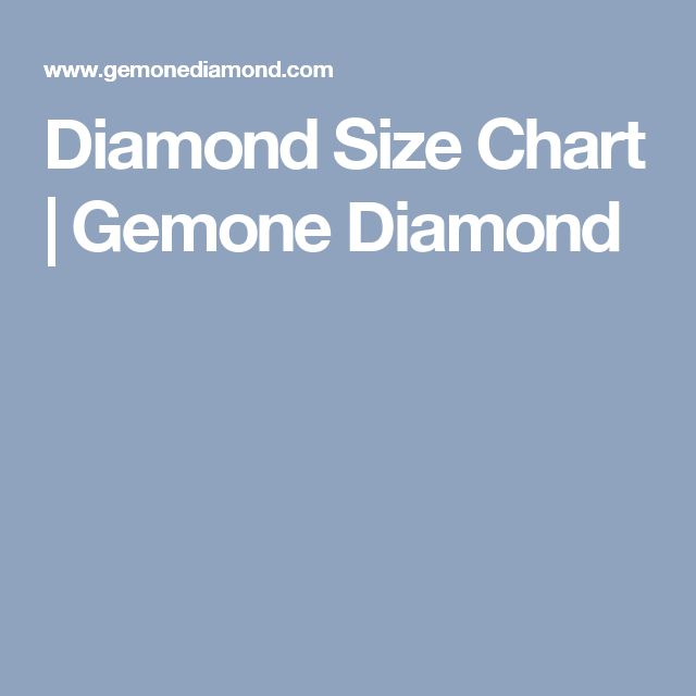 The 25+ best Diamond size charts ideas on Pinterest Diamond - sample diamond chart