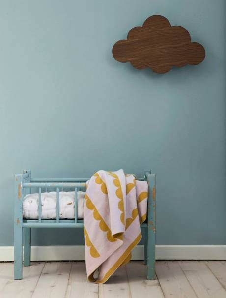 We love this wooden cloud by Ferm Living