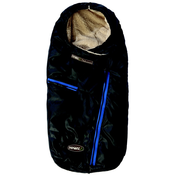 Papoose: Black.  Good for both boys and girls!