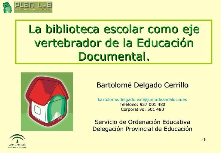 La biblioteca como eje vertebrador de la Educación Documental