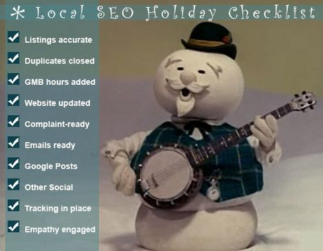 The Local SEO Holiday Checklist – You Could Even Say It Glows