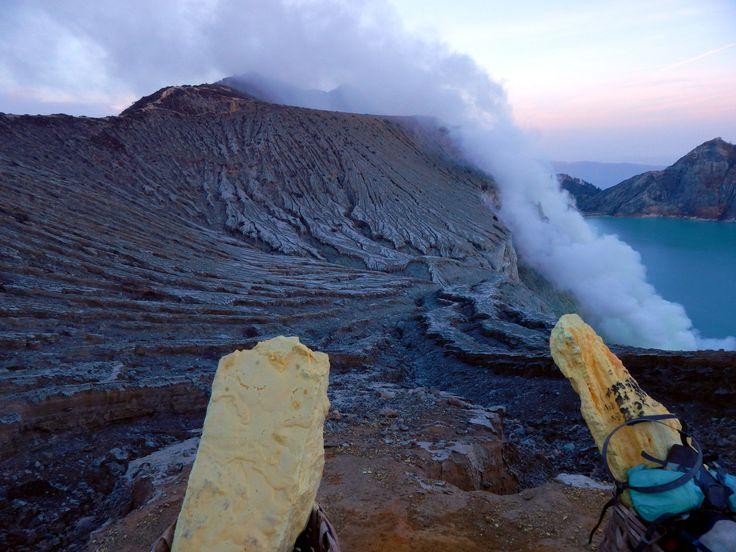 Giava Ijen Crater