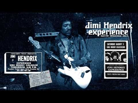 ▶ Jimi Hendrix - Red House - Dallas - August 1968 - YouTube.  I attended his concert in San Antonio the night before.