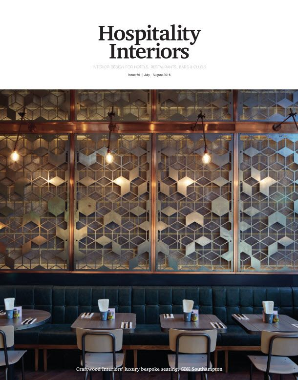 Hospitality Interiors - July/August 2016