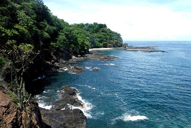 boating around the Gulf of Papagayo