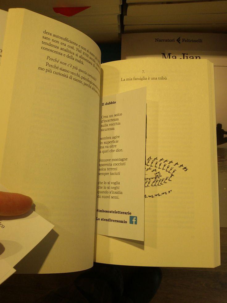 """La Feltrinelli, Mantova.  Nella foto: """"L'amico scrittore"""" di Daniel Pennac."""