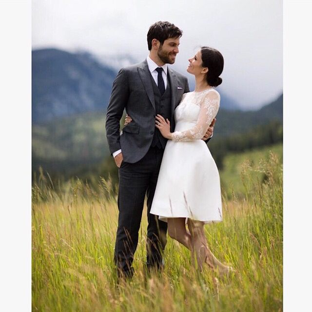 "David Giuntoli (@mrgiuntoli) on Instagram: ""I married her. I air-guitared her. I terrified her. I love you @bitsietulloch."