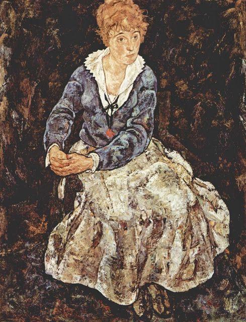 Πορτρέτο της Εντίθ (1918)