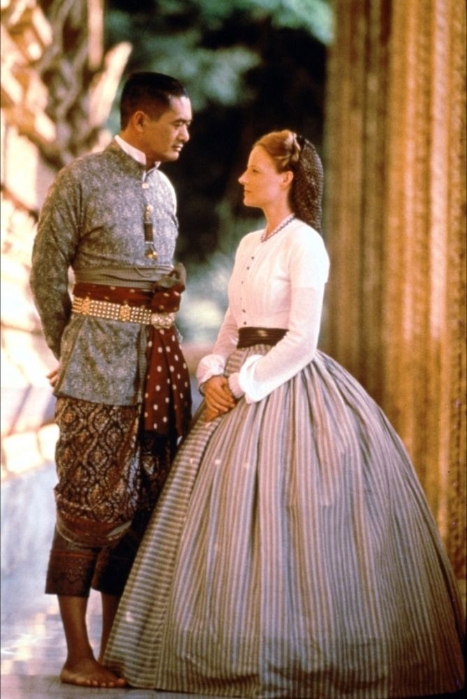 Yun-Fat Chow (King Mongkut) & Jodie Foster (Anna Leonowens) - Anna and the King (1999) #annaleonowens