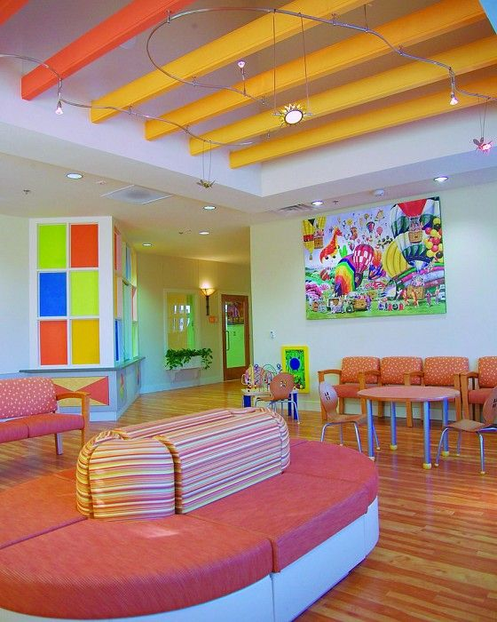 Pin By Interior Designer In A Box On Kids Teenager: Arkansas Children's Hospital, Circle Of Friends Clinic