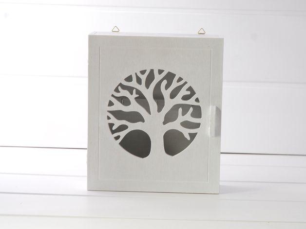 Skrzynka na klucze - Drzewo - Silva-Design-Drewniane-Dekoracje - Dodatki do domu